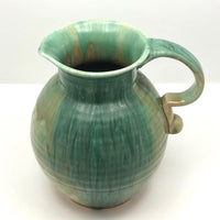 Drippy Green Glazed Royal Winton Grimwades, England Pitcher