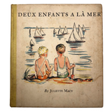 Deux Enfants a la Mer French Children's Book