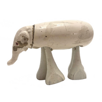 Wilson Walkies 1930s Wooden Elephant Rampwalker