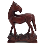 Chinese Carved Wooden Horse