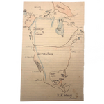 R.F Abbott 1880 Hand-drawn Student Map