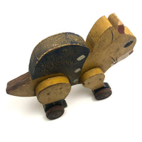 HOLD SW - Cute Wooden Cat on Wheels with Fantastic Surface