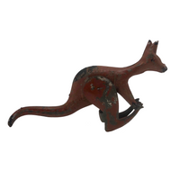 Antique Kangaroo Tin Penny Toy