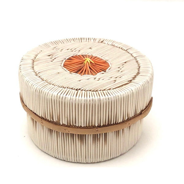 Beautiful Ojibwe Porcupine Quill and Birch Bark Box