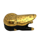 Gold and Black Frog-Shaped Lacquer Box