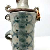 Mid-Century Scandinavian Pottery Vessel (Still Bank) with Horse Head