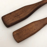 Handmade Mini Wooden Serving Spoons or Spreaders - A Pair