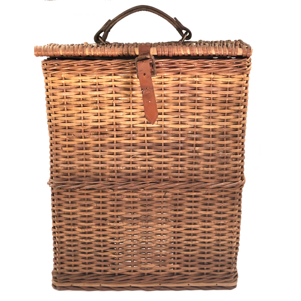 ... Vintage 1940s Abercrombie and Fitch Picnic Basket Set, Made in England  ...