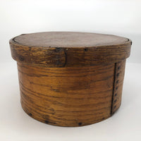 E.B Frye and Son Wilton, NH Antique Lidded Pantry Box