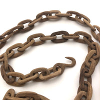 Hand-carved Whimsy Chain with End Hooks - 40 inches