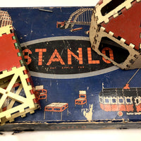 Stanley Tools Stanlo L500 Modular Metal Construction Set, 1930s