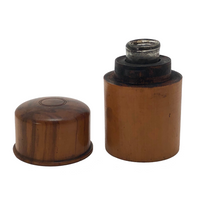 Treen 19th Century Traveling Ink Bottle
