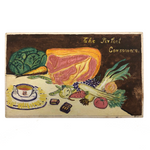 The Perfect Consomme Antique British Hand-painted Postcard