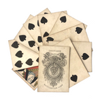 Hunt and Sons 1830s British Playing Cards, Heavy Stock, Spades