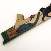 Grenfell Mission, Labrador Canada Hand-painted Letter Opener