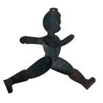 Antique Tin Dancing Man Toy