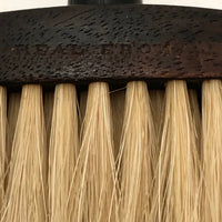 French Ebony Wood and Horsehair Brush