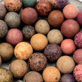 Bunch of Antique Clay Marbles - Batch 2