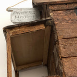 "Tobacco Box Tramp Art ""Drover Hotel"""
