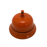 Bright Orange 1950s Countertop Bell