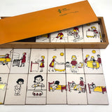 Acrilu Set of Sequential Teaching Puzzles in Great Orange Slide Top Box