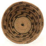Antique Papago / Pima Basket with Zig Zag Design and Gorgeous Patina