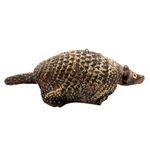 Fabulous Old Mexican Clay Hand-painted Bobble Head Armadillo