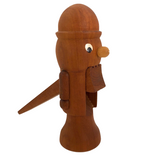 Mid-Century Wooden Nutcracker Man