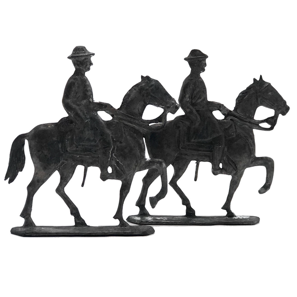 Lead Mounted Calvary Soldiers - Sold Individually