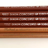 Mixed Set of Dixon Concord and Reliance Method No.2 Pencils