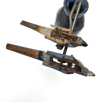 Wonderful Carved, Painted Antique Mechanical Birds - Sold Individually