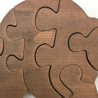 Little Wooden Bear Puzzle