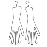 Hanging Wire Glove Stretchers, A Pair