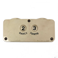 Antique Celluloid Bridge Games and Points Counter