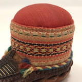 Leather Mocassin Pin Cushion