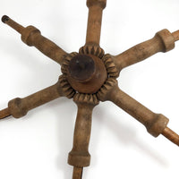 Beautiful Old Wooden Spoke Shaped Whatsit!