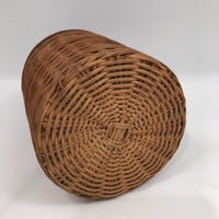 Wicker Covered Demijohn with Handle