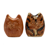 Handmade Little Pottery Cats - Sold Individually