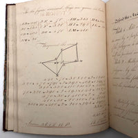 Samuel Gifford 1832 Large (90 pg) Geometry Notebook, Petherton School