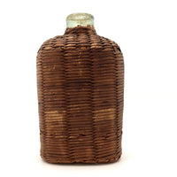 Sold—hold for JB Civil War Era Wicker Covered Whiskey Flask
