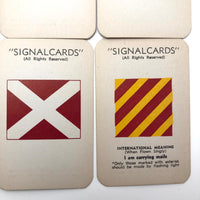 Sunset Press Vintage Signal Cards c. 1940s