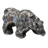 Cast Silver Polar Bear