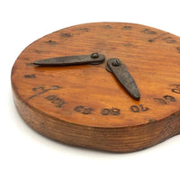 Great Old Handmade Double Dial Wooden Score Keeper