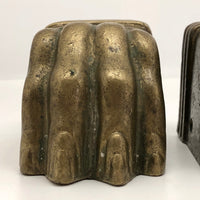 Heavy Brass Lion Claws (Great Bookends!) - A Pair