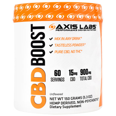 Axis Labs CBD Boost Unflavored 60 ea