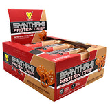 BSN Syntha-6 Protein Crisp Salted Toffee Pretzel 12 ea