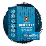 Battle Bars Blue Falcon Blueberry (12 Bars) Nutrition Facts