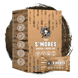 Battle Bars FBR (Full Battle Rattle) S'mores Protein Bars (12 Bars)