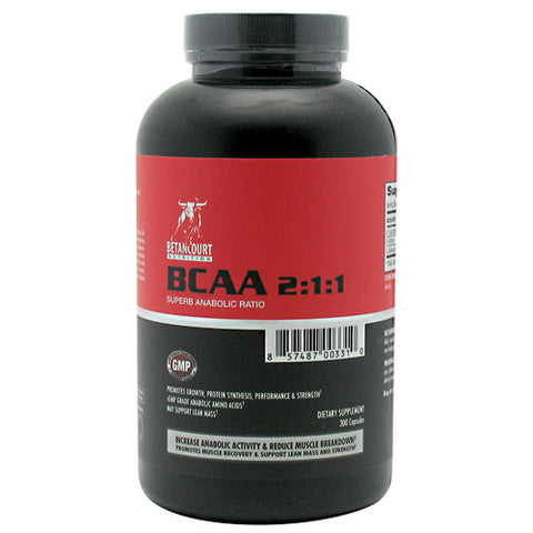 Betancourt Nutrition BCAA 2:1:1 Ratio 300 ea
