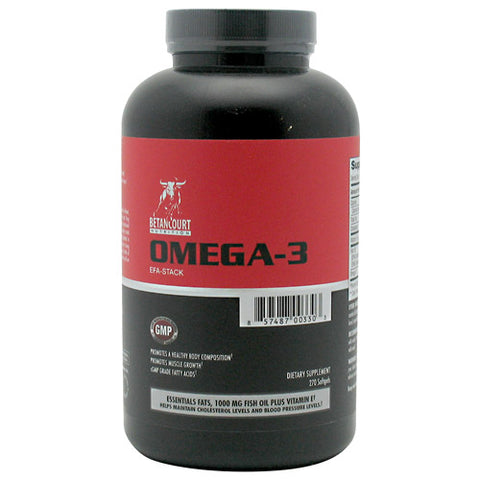 Betancourt Nutrition Omega-3 270 Softgels